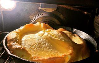 dutch baby in oven